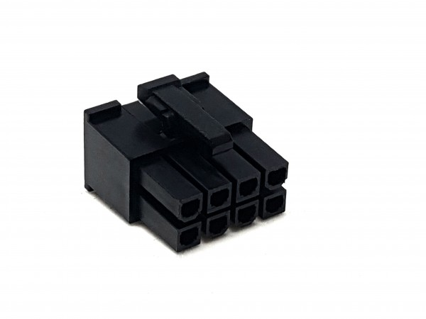 8 Pin ATX/EPS Female Connector - black