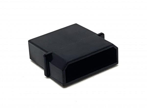 4 Pin MOLEX Male Connector - black