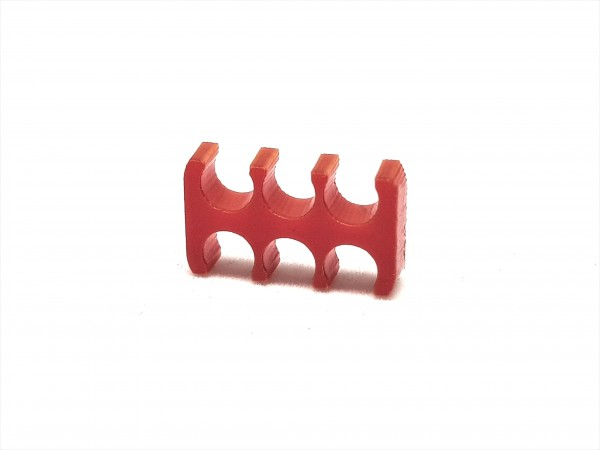 BD Plastic Cable Combs open 6 Pin V2 - red