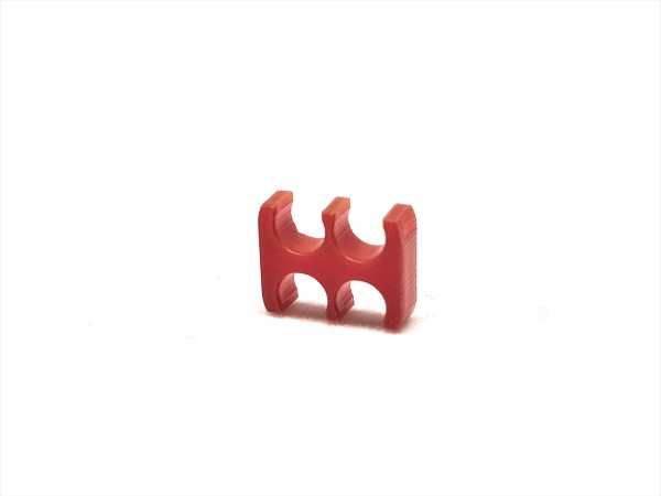 BD Plastic Cable Combs open 4 Pin V2 - red