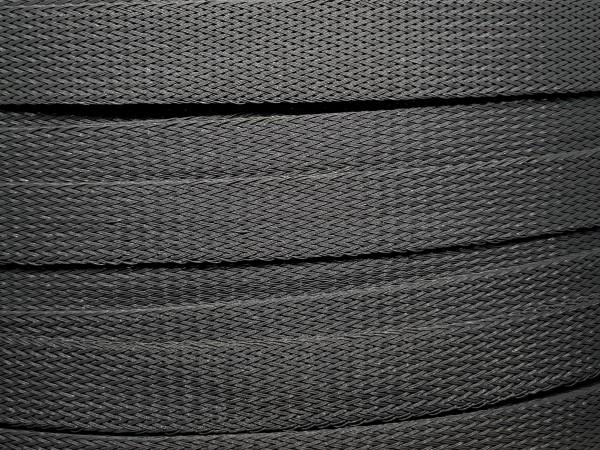 18mm Geflechtschlauch PET Sleeve *Dark Platinum*