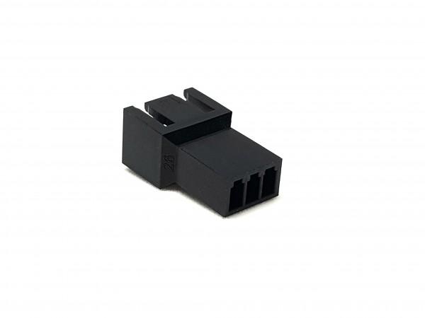 3 Pin Male FAN Connector - black