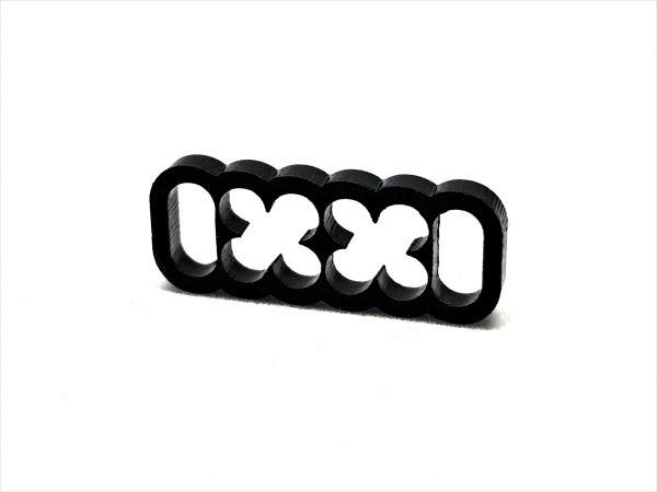 BD Plastic Cable Combs closed 12 Pin V2 - black