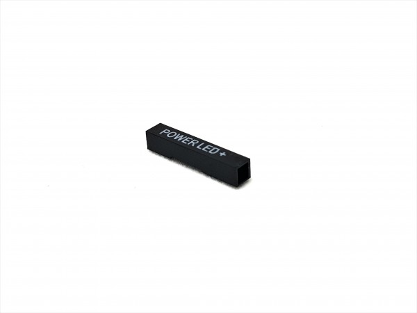 1 Pin Power LED + Connector - black