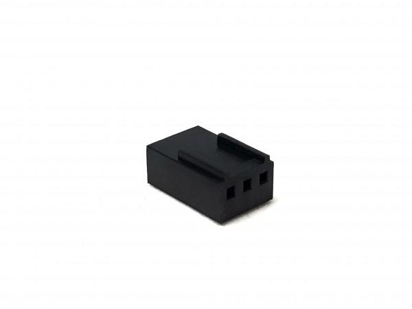 3 Pin Female FAN Connector - black