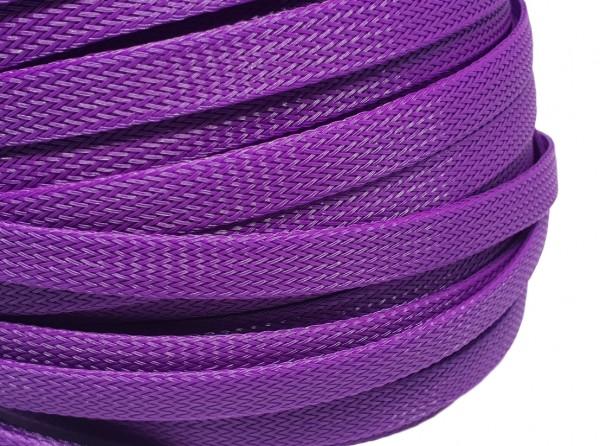 12mm Geflechtschlauch PET Sleeve *Mulberry Purple*