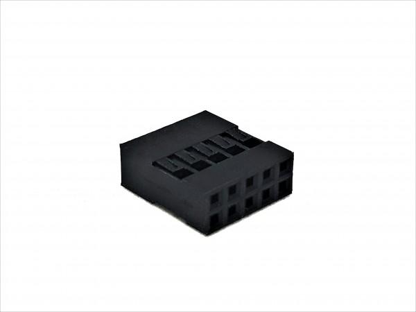 10 Pin DuPont Connector - black