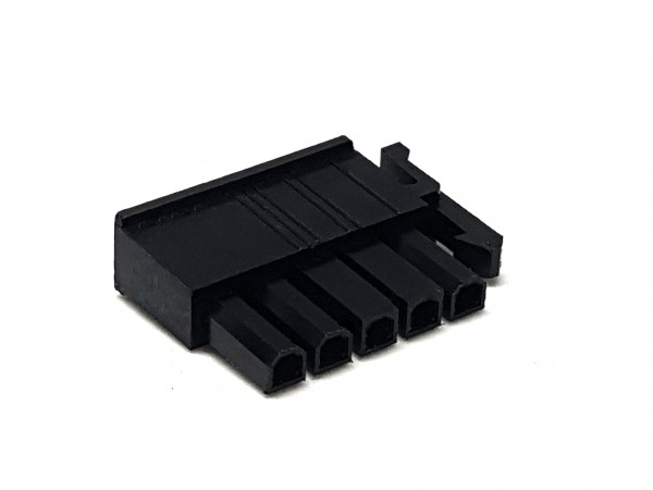 5 Pin Power Side Lock PSU Connector - black