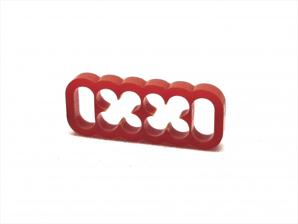 BD Plastic Cable Combs closed 12 Pin V2 - red