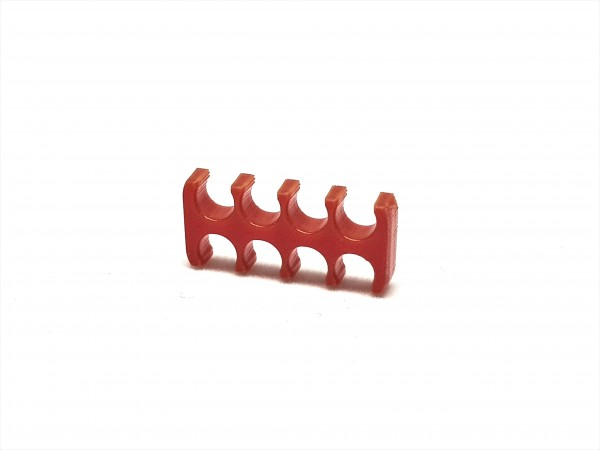 BD Plastic Cable Combs open 8 Pin V2 - red