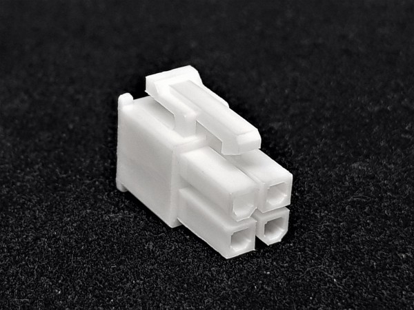 4 Pin EPS/CPU Female Connector - white