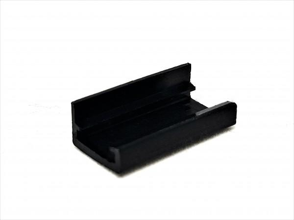 4 Pin MOLEX End Cap - black