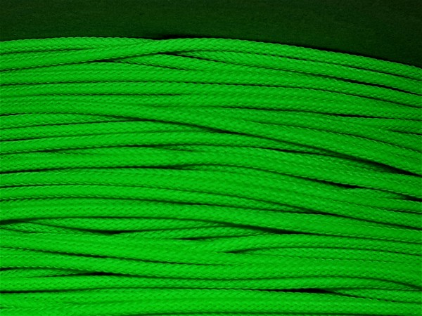 2mm Geflechtschlauch PET Sleeve *Apple Green*