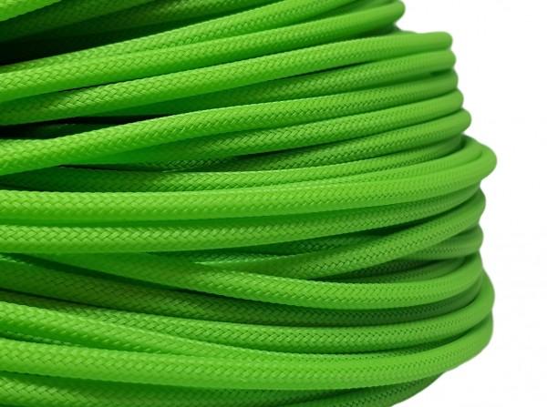 4mm Geflechtschlauch PET Sleeve *Mamba Green*