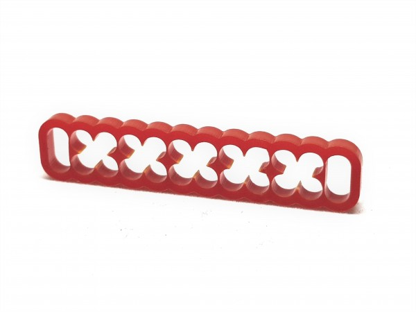 BD Plastic Cable Combs closed 24 Pin V2 - red