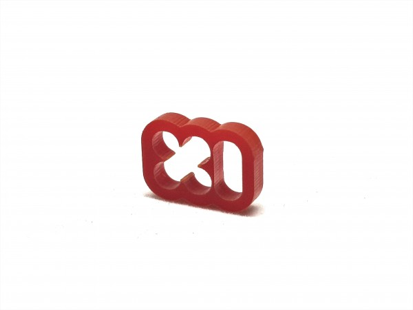 BD Plastic Cable Combs closed 6 Pin V2 - red