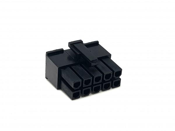 10 Pin ATX Female Connector - black
