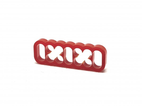 BD Plastic Cable Combs closed 14 Pin V2 - red