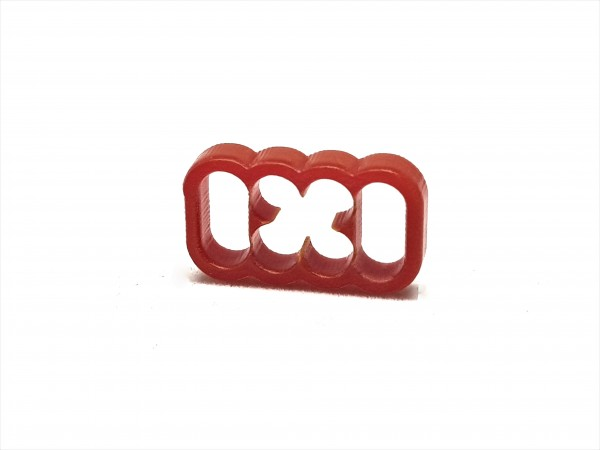 BD Plastic Cable Combs closed 8 Pin V2 - red