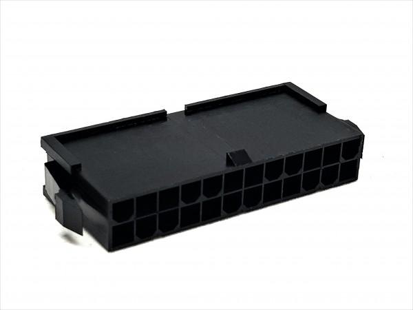 24 Pin ATX Male Connector - black