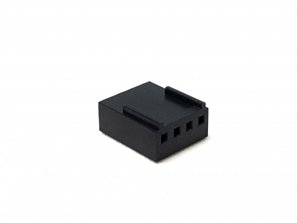 4 Pin Female FAN Connector - black