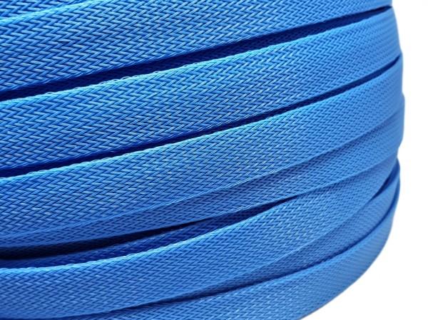 18mm Geflechtschlauch PET Sleeve *Royal Blue*