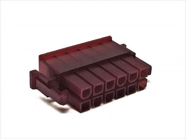 12 Pin Enermax PSU Connector - red