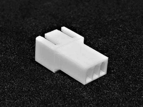 3 Pin Male FAN Connector - white