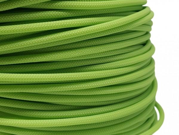 4mm Geflechtschlauch PET Sleeve *Lime Green*