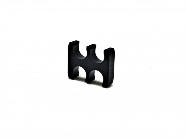 BD Plastic Cable Combs open 4 Pin V2 - black