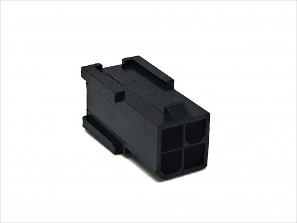 4 Pin EPS/CPU Male Connector - black