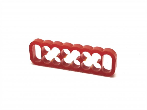 BD Plastic Cable Combs closed 16 Pin V2 - red