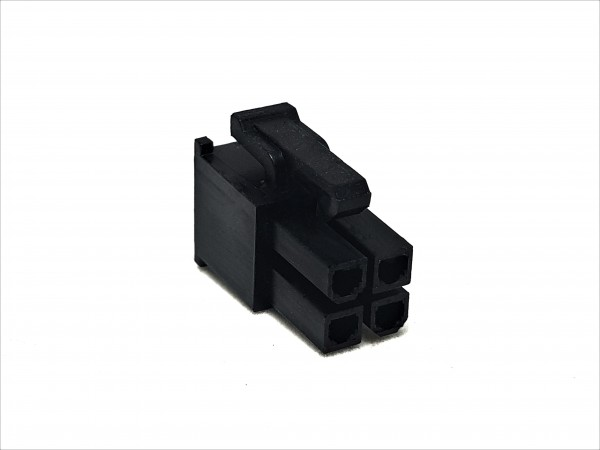 4 Pin EPS/CPU Female Connector - black