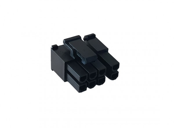 6+2 Pin PCIe Fermale Connector - black