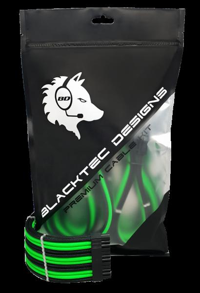 BD Cable Extension Kit D-Series Premium - black/green