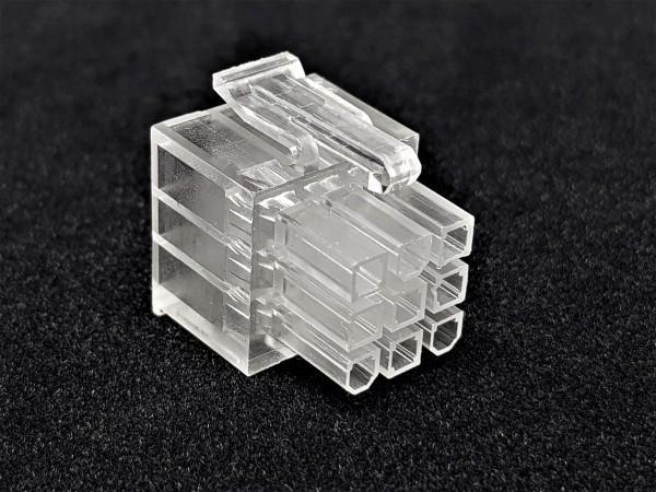 9 Pin Superflower PSU Connector - transparent