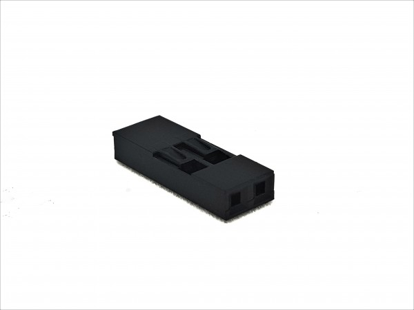 2 Pin DuPont Connector - black