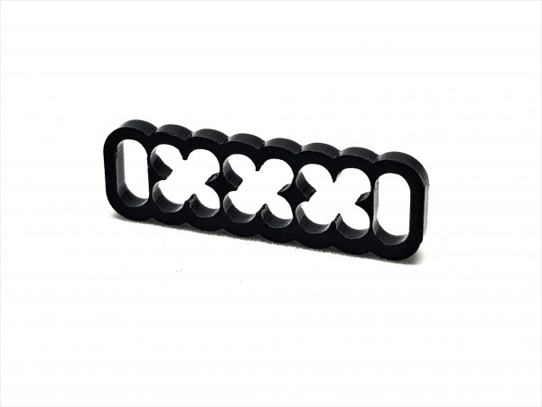 BD Plastic Cable Combs closed 16 Pin V2 - black
