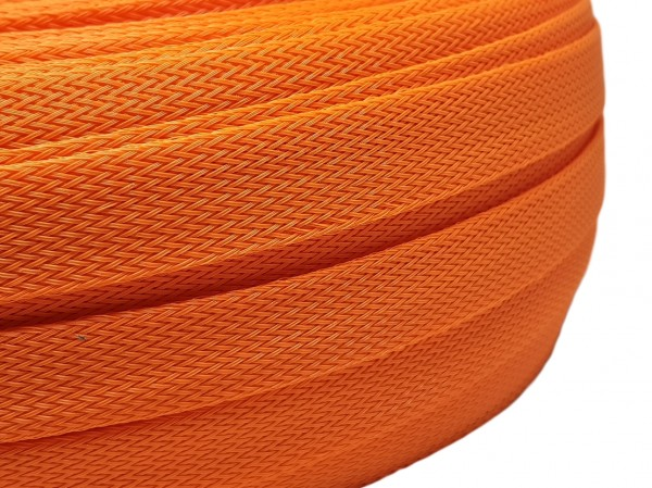 18mm Geflechtschlauch PET Sleeve *Juicy Orange*