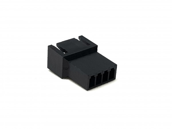 4 Pin Male FAN Connector - black